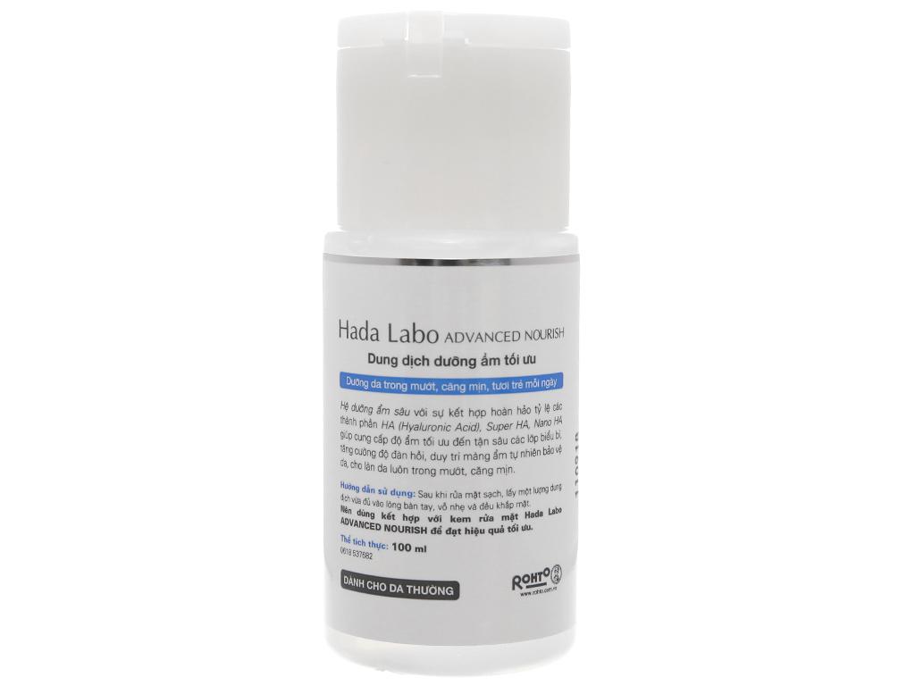 Dung dịch dưỡng ẩm tối ưu Hada Labo Advanced Nourish 100ml 3