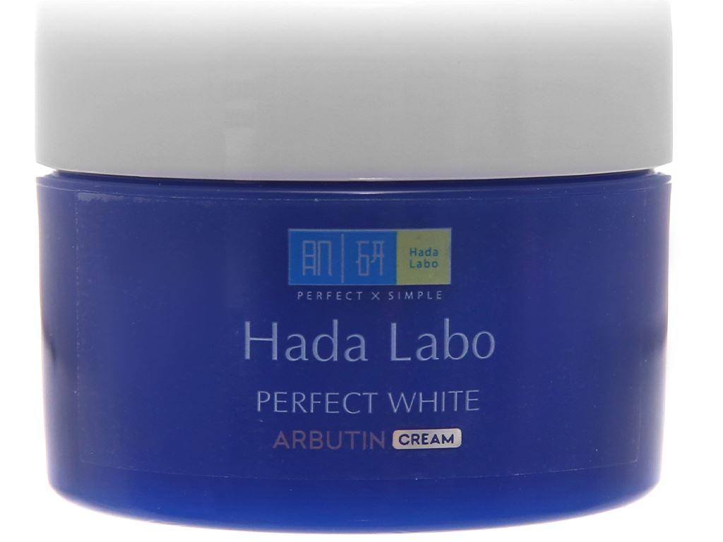 Kem dưỡng trắng Hada Labo Perfect White 50g 8