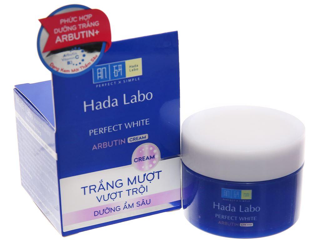 Kem dưỡng trắng Hada Labo Perfect White 50g 3