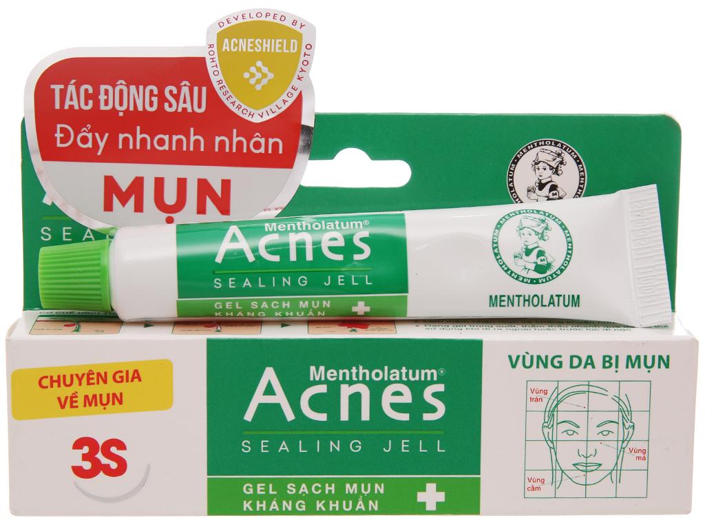 Gel ngừa mụn Acnes Sealing Jell 18g 2