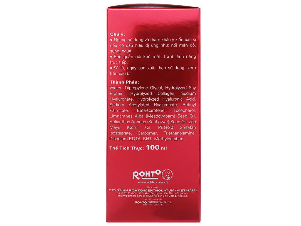 Dung dịch dưỡng chuyên biệt Hada Labo chống lão hóa 100ml 10