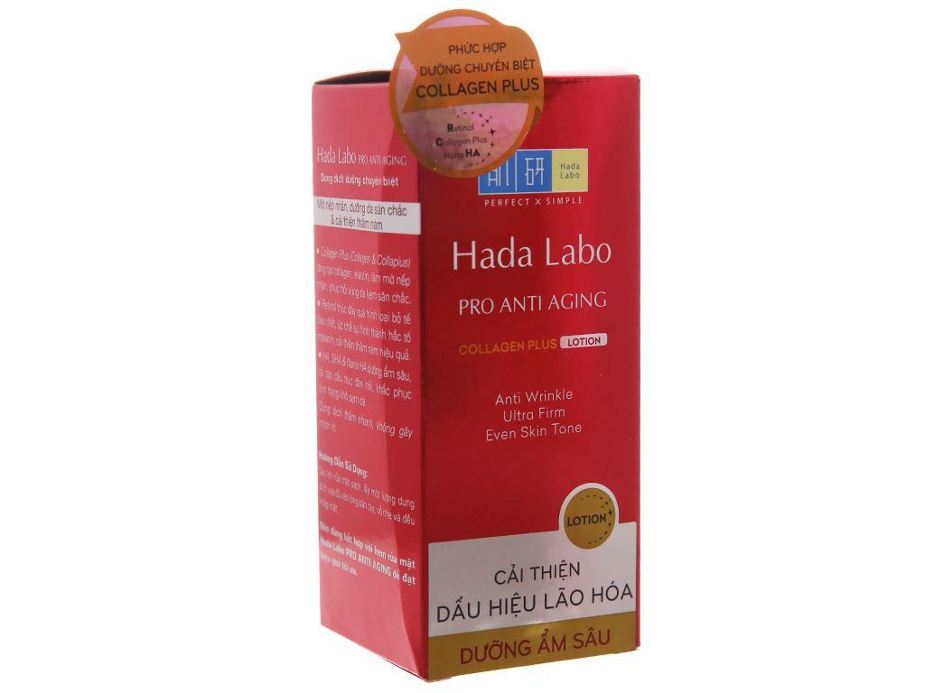 Dung dịch dưỡng chuyên biệt Hada Labo chống lão hóa 100ml 3
