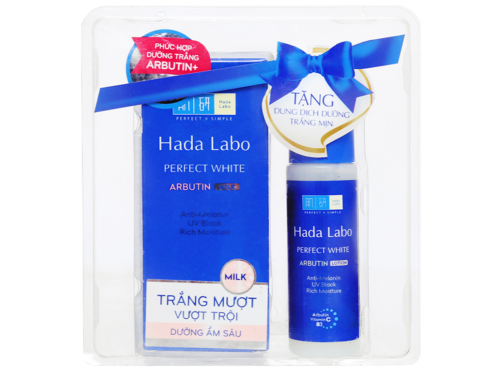 Sữa dưỡng trắng Hada Labo Perfect White 90ml 1