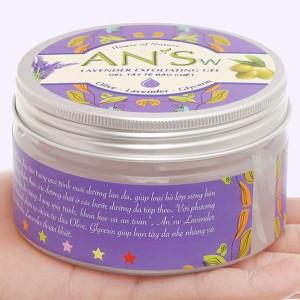 Gel tẩy tế bào chết ANSw Lavender Exfoliating 250g