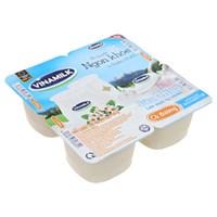 Sữa chua Vinamilk có Đường 100g (4 hộp)