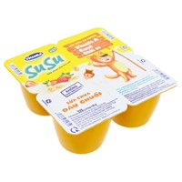 Sữa chua Vinamilk SuSu Dâu, Chuối 80g (4 hộp)
