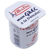 Sữa chua Elle & Vire vị Phúc bồn tử kiểu Hy Lạp 125g