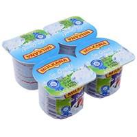 Sữa chua Milkana vị Dâu, Trái cây 100g (4 hộp)