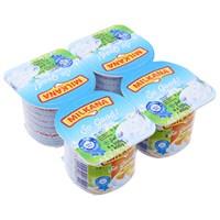 Sữa chua milkana vị Mơ, Trái cây 100g (4 hộp)