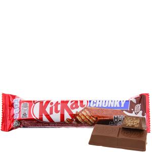 Bánh xốp phủ socola KitKat Chunky gói 38g
