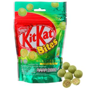 Bánh xốp KitKat Bites trà xanh 150g