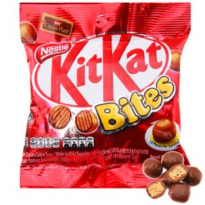 Bánh xốp phủ socola KitKat Bites gói 40g