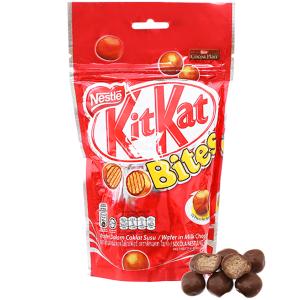 Bánh xốp phủ socola KitKat Bites túi 200g