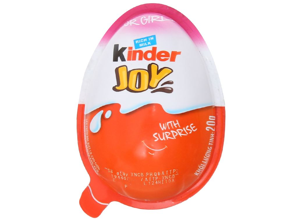 Socola trứng Kinder Joy cho bé gái 20g 1
