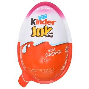 Socola Kinder Joy cho bé gái kem sữa cacao kem sữa cacao 20g