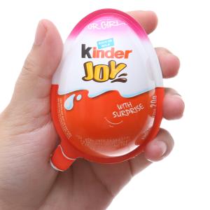 Socola Kinder Joy cho bé gái kem sữa cacao 20g