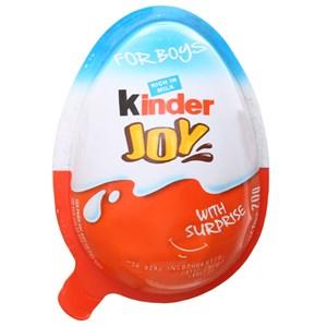 Socola Kinder Joy cho bé trai kem sữa cacao 20g