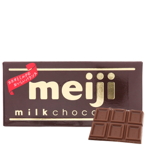 Socola sữa Meiji thanh 50g