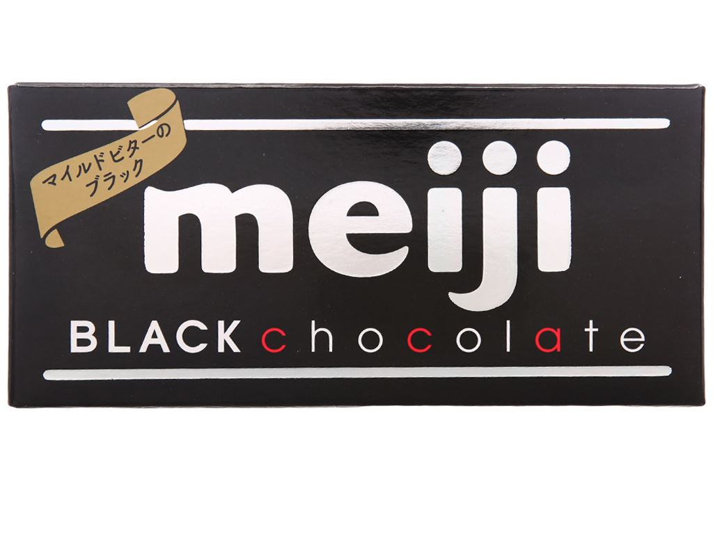 Socola đen Meiji thanh 50g 1