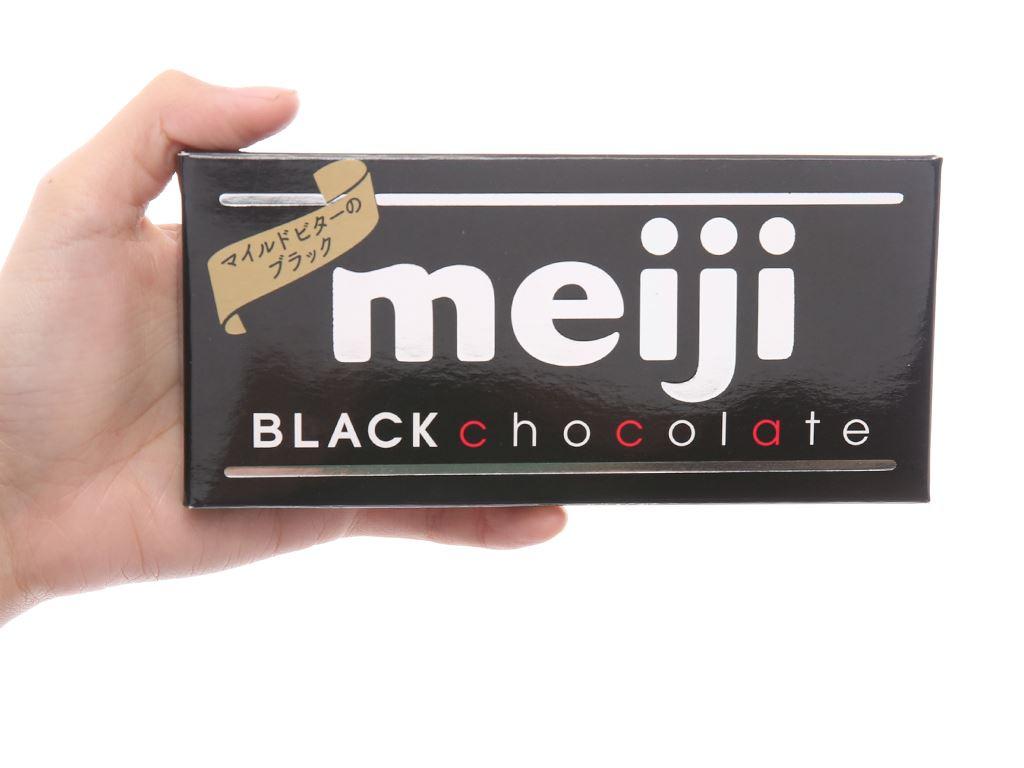 Socola đen Meiji thanh 50g 4