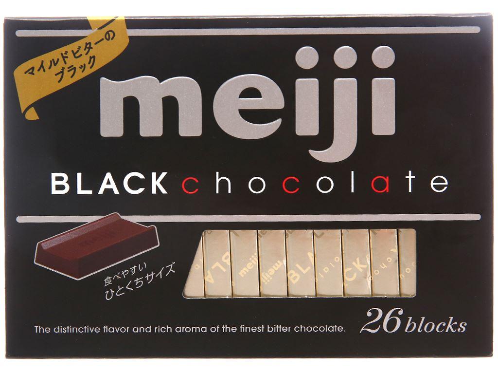 Socola đen Meiji hộp 120g 1