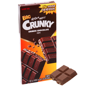 Socola Lotte Big Crunky hộp 82g