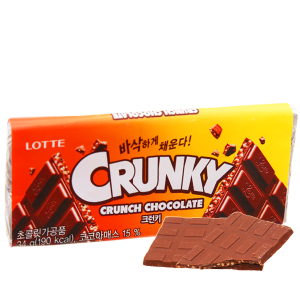 Socola Lotte Crunky thanh 34g