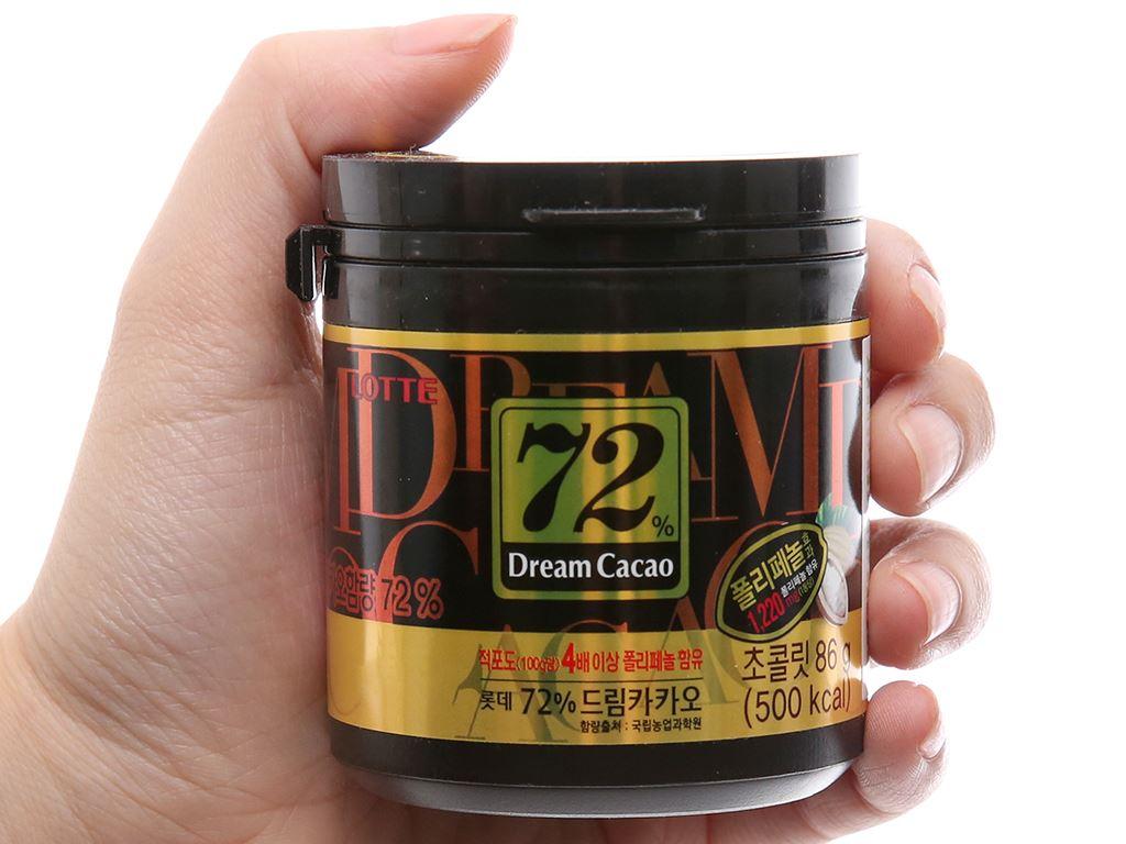 Socola đen Lotte Dream Cacao 72% hộp 86g 3