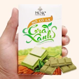 Socola trà xanh Henk hộp 50g