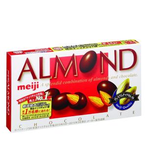 Kẹo socola nhân hạnh nhân Meiji hộp 88g