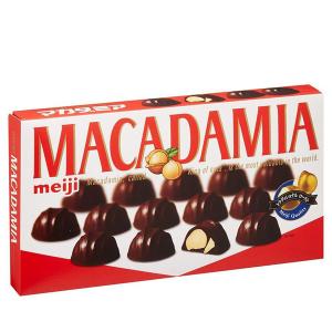 Kẹo socola nhân hạt macca Meiji hộp 88g
