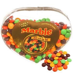 Kẹo socola viên bi Choco Rock hộp 250g