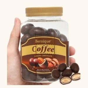 Socola cà phê hạnh nhân Bernique hộp 350g
