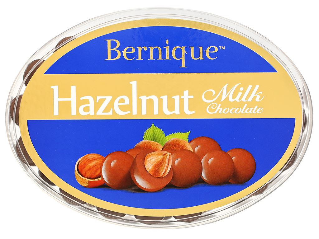 Socola sữa hạt phỉ Bernique hộp 450g 2