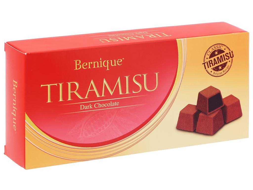 Socola đen tiramisu Bernique hộp 180g 1