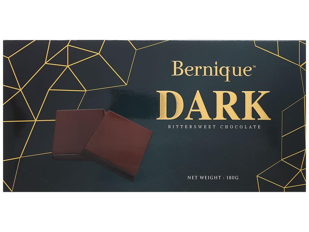 Socola đen Bernique hộp 180g 2