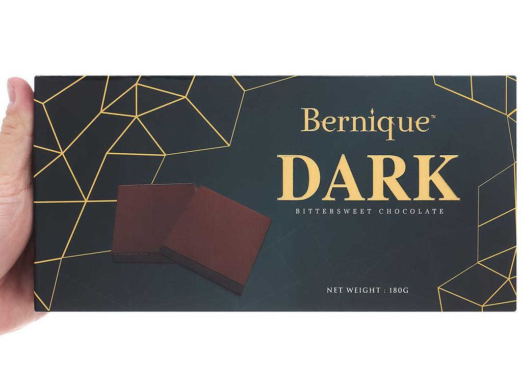Socola đen Bernique hộp 180g 7