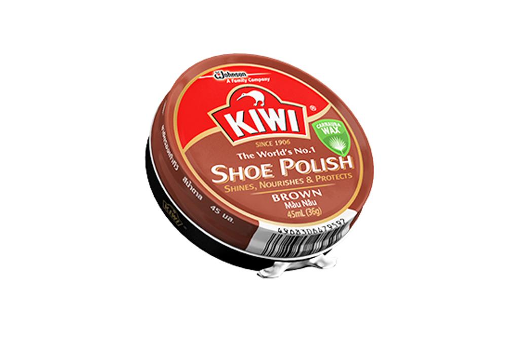Xi sáp Kiwi màu nâu 45ml 2