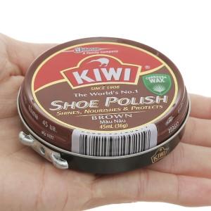 Xi sáp Kiwi màu nâu 45ml