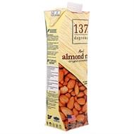 Sữa hạnh nhân 137 Degrees Không đường hộp 1lít