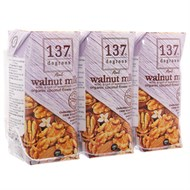 Sữa óc chó 137 Degrees Mật hoa dừa hộp 180ml (3 hộp)