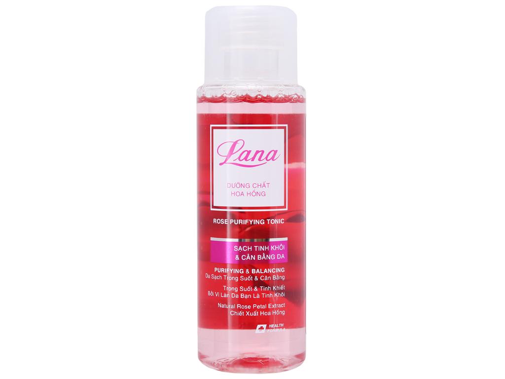 Nước hoa hồng Lana cân bằng da 150ml 2