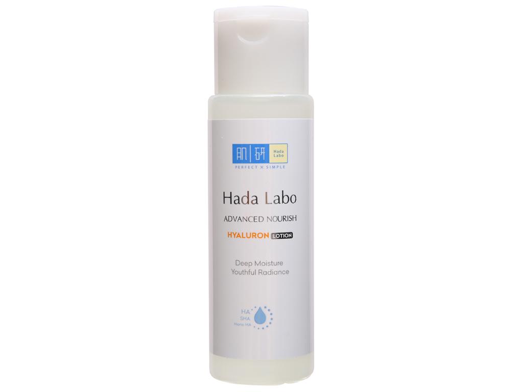 Dung dịch dưỡng ẩm tối ưu dùng cho da thường và da khô Hada Labo Advanced Nourish Lotion 170ml 3