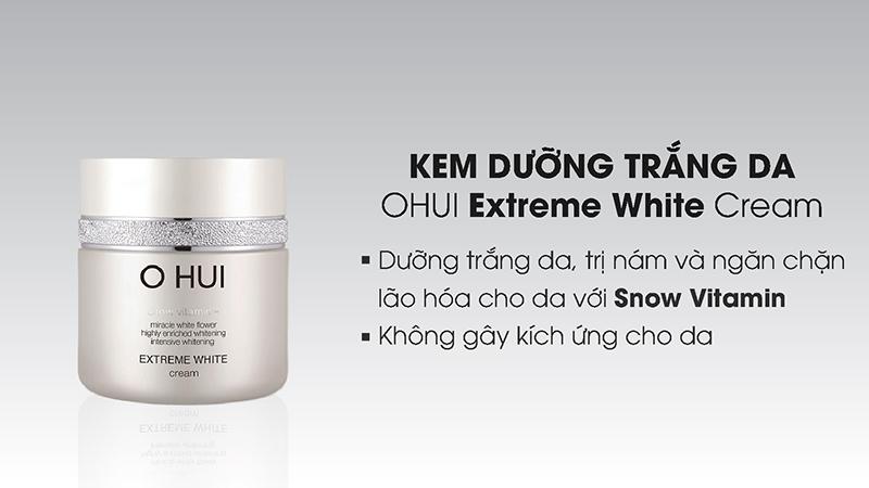 Kem dưỡng trắng OHUI Extreme White Cream 50ml