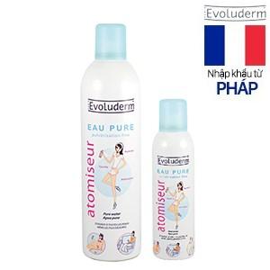 Bộ xịt khoáng dưỡng da làm dịu chống kích ứng và kháng viêm Evoluderm 400ml + 150ml