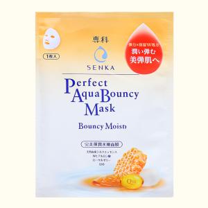 Mặt nạ Senka Perfect Aqua Bouncy dưỡng da đàn hồi và cấp ẩm 25ml
