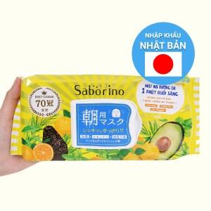 Mặt nạ dưỡng ẩm buổi sáng hương trái cây Saborino 32 cái