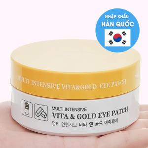 Mặt nạ mắt tinh chất vitamin và vàng ròng Hani Hani 60 miếng