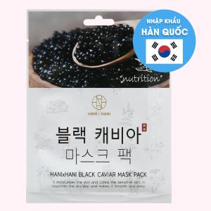 Mặt nạ dưỡng da tinh chất trứng cá đen Hani Hani 25ml