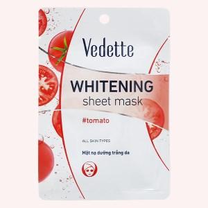 Mặt nạ giấy trắng da cà chua Vedette 22ml